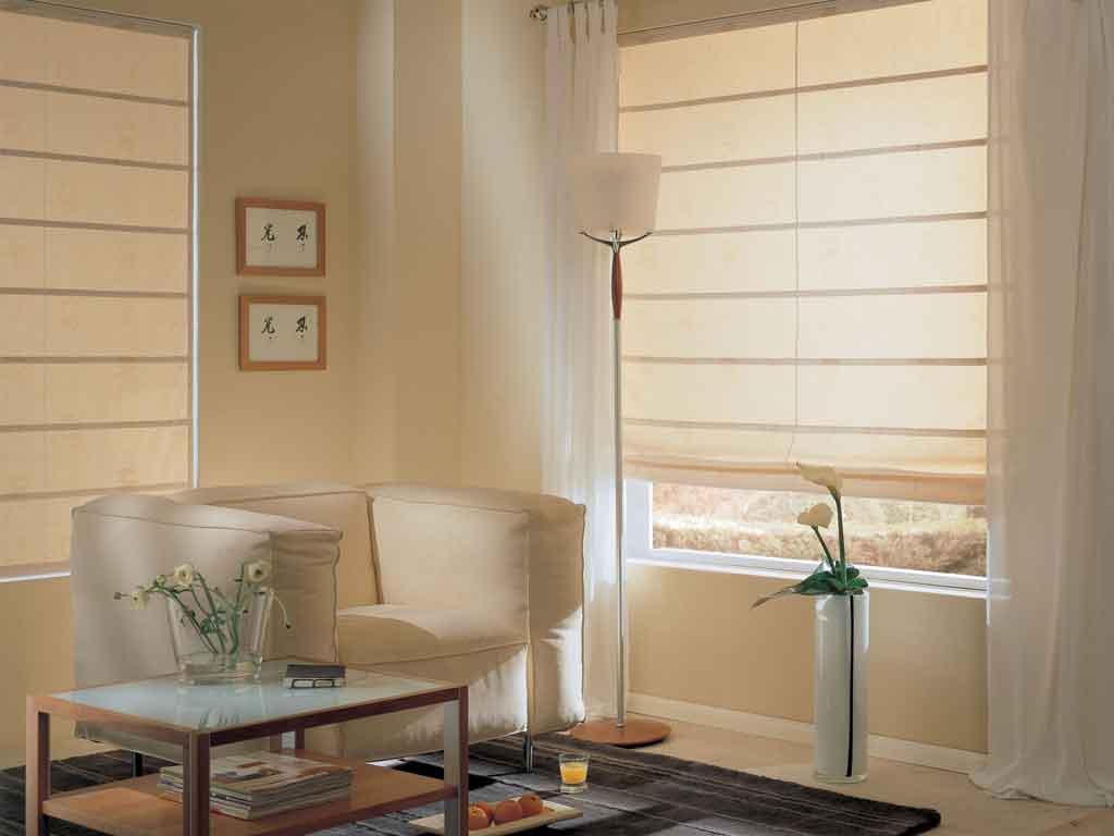 bildershow raffrollo. Black Bedroom Furniture Sets. Home Design Ideas